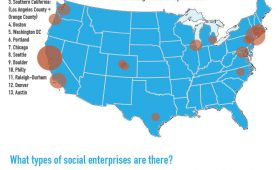 A Map of Social Enterprises in the U.S.