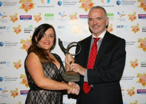 Stepping Stones Charity Bags Social Enterprise Award