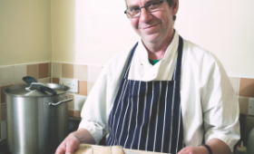 Bath Vendor and Chef on His Food Social Enterprise