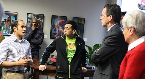 Malloy Backs Social Enterprise