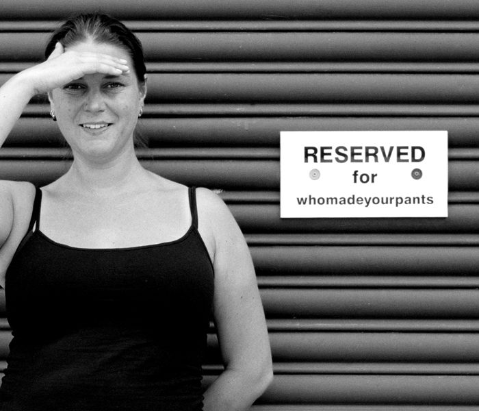 Who Made Your Pants Founder Combines Fashionable Pants and Human Rights
