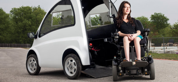 Electric Car Startup is Revolutionizing Mobility for Wheelchair Users