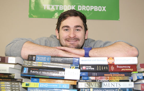 Social Enterprise Piles Textbooks for Change